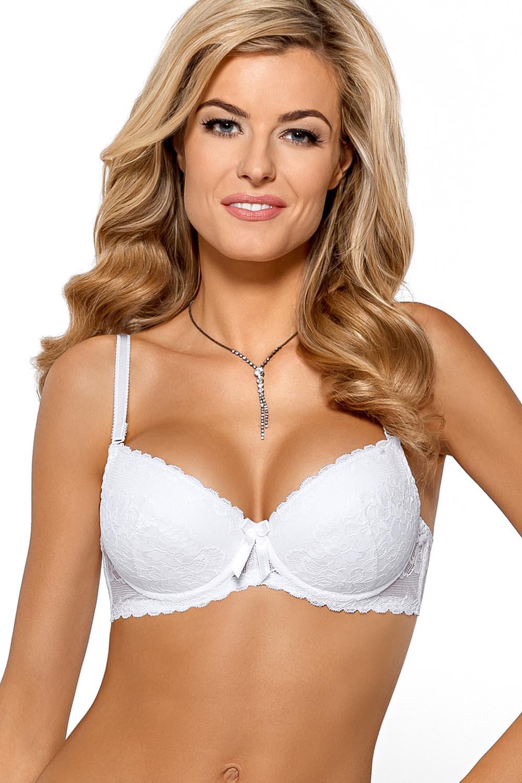 5d3f9d1e942ed Nipplex Dorota womens underwired push up bra strapless lace lingerie ...