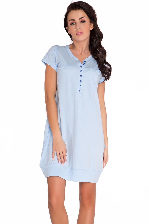 Dn Nightwear Tm5009 Subtle Classic Maternitynursing Nightdress