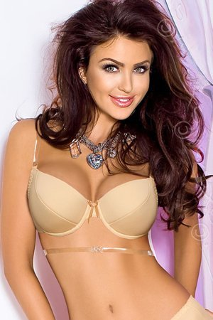 Axami V-5791 Basic multiway strap push-up bra