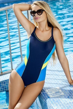 Ewlon Perla women's monokini padded push-up cups adjustable straps