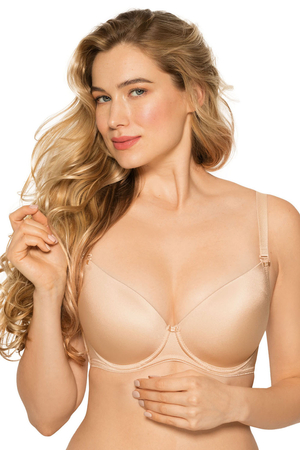 Gaia 639 Jean underwired smooth push-up bra removable adjustable straps