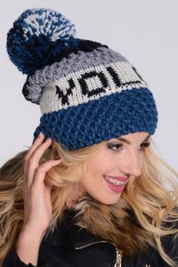 Kamea Frederika stylish beanie with pompom