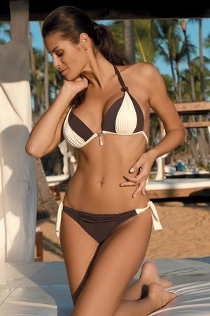 Marko Amber M-260  feminine fashionable two piece bikini