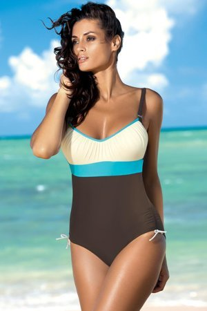 Marko Whitney M-253 stylish one piece underwired swimming suit for women