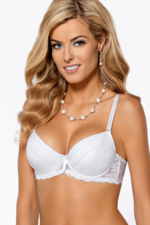 Nipplex Nina subtle feminine bra with delicate lace and removable straps