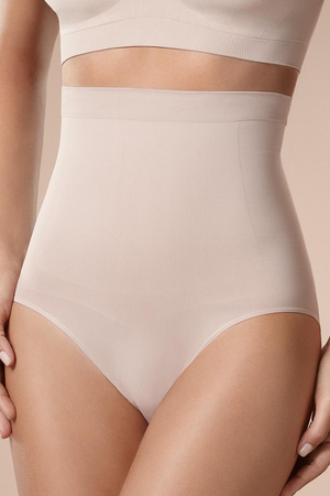 Plie 50041 High Waist  shapewear slimming smooth Briefs