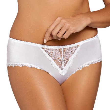 Ava 740 classic elegant subtle briefs with delicate lace
