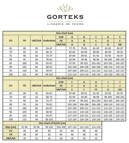 Gorteks Marilyn/F ladies knickers lingerie