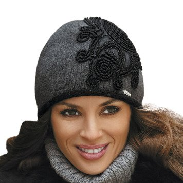 Kamea Sofia women's woolen hat warm patterned casual