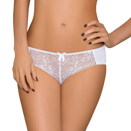 Nipplex Elise stylish feminine casual thong with alluring lace pattern