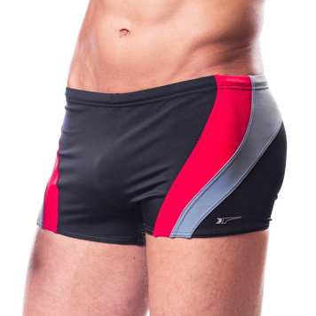 Shepa 034 men's swimming plus size trunks shorts patterned colourful swimwear
