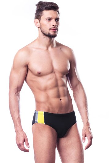 Shepa 053 men's swimming trunks briefs smooth not patterned classic swimwear