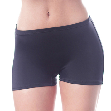Shepa women's sport's swimming shorts plain not patterned classic pool swimwear