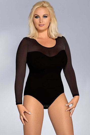 Vestiva BD 026 womens bodysuit leotard body long sleeves