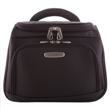 Wittchen 56-3-489  travel premium cosmetic bag case for women men with zip closure shoulder strap