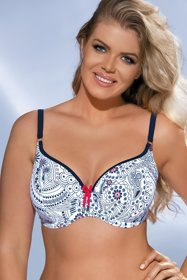 Ava SK-33 fashionable padded bikini top – made in