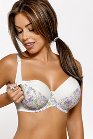 Gaia 572 Mama charming subtle padded maternity bra – made in