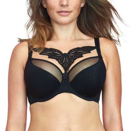 Gaia underwired embroidered semi padded bra 782 Caprice