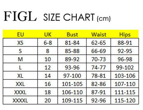 Figl size chart