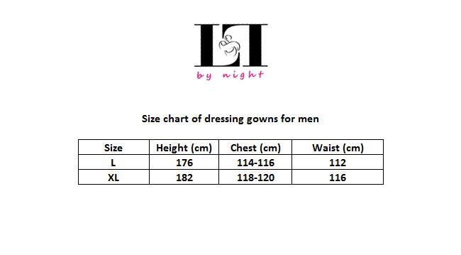 LL size chart