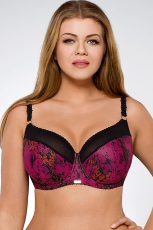 Ava 1454 womens underwired semi padded bra sexy lingerie