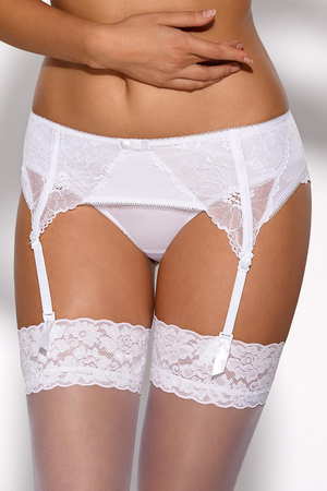 Ava 1563 women's lacy low garter belt