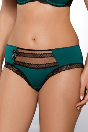 Ava 995 women's knickers briefs patterned tulle with lace regular waist