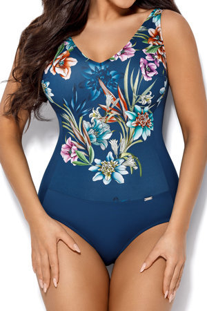 Ava floral smooth one piece swimsuit SKJ-21