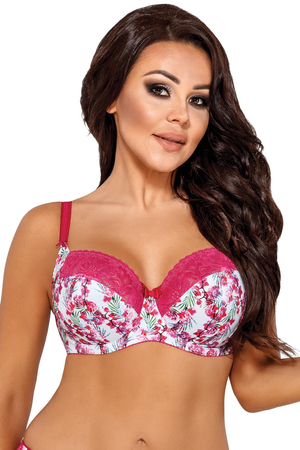 Ava underwired floral non padded bra 1684 Islet