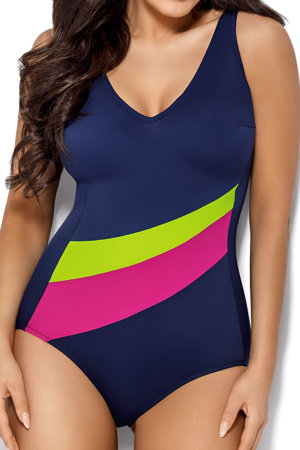 Ava women's padded smooth one piece swimsuit SKJ-20