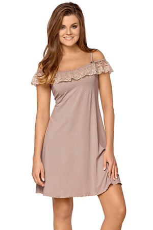 Babella women's smooth lace nightdress Leticia