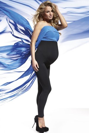 Bas Bleu Anabel PZ Comfortable pregnancy over bump leggings