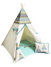 Cozydots kids play tent indian fun indoor outdoor TeePee