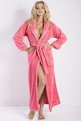 Dkaren Eliza dluga women's dressing gown long sleeved smooth