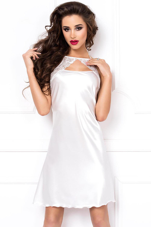 Dkaren Irma women's nightdress satin lace chemise