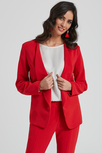 Ennywear women's long sleeved smooth blazer  250096
