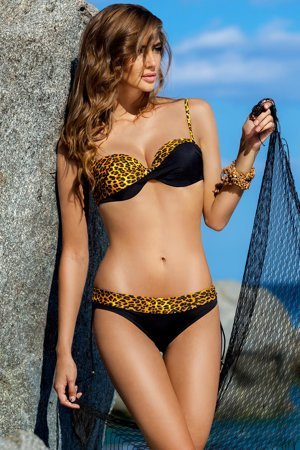 Ewlon Afryka fashionable stylish trendy chic two piece bikini