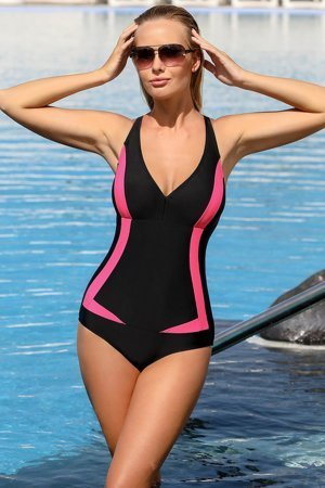 Ewlon Greta classic one piece swimsuit