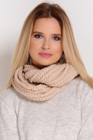 Fil'loo KM-062 women's snood woolen casual warm winter