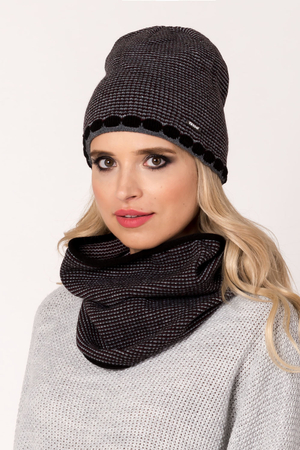 Fil'loo women's hat and snood set KPL-18-04