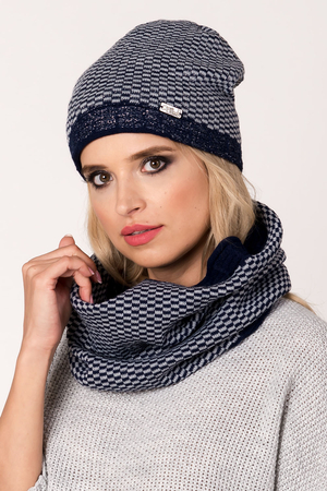 Fil'loo women's hat and snood set KPL-18-05 hat