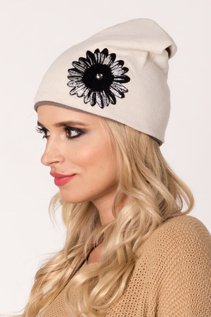 Fil'loo women's hat beanie with fleece CD-17-06B