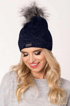 Fil'loo women's hat with pompom CD-17-17