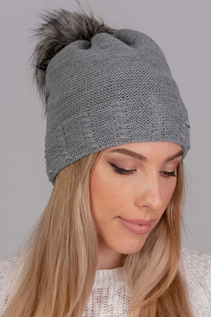 Fil'loo women's pompom hat CD-19-03