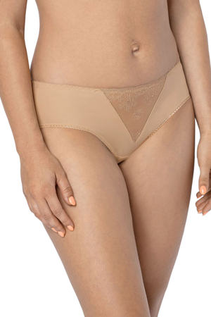 Gaia 708P Johanna women's briefs embroidered smooth