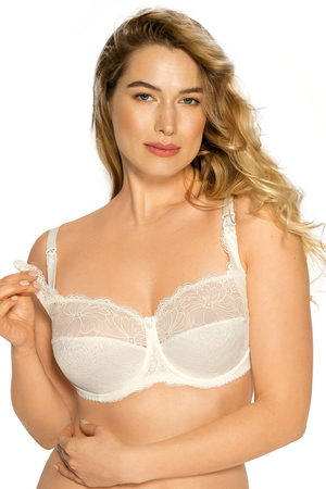 Gaia underwired lace nursing bra 939 Mama