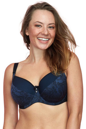 Gaia underwired lace patterned padded bra 793 Lauretta