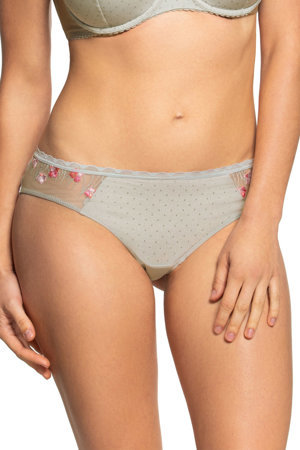 Gaia women's lace dotted briefs 819B Valencia