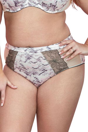Gaia women's smooth high waist briefs 787P Estelle