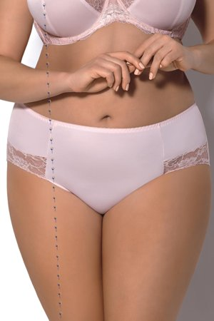 Gorsenia K328 Ellen women's briefs smooth floral lace